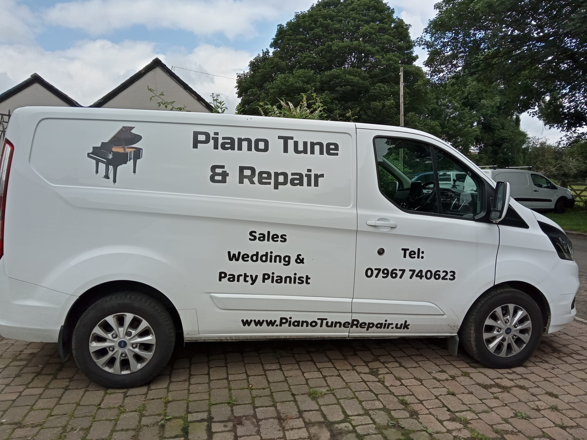 Piano Moving Van