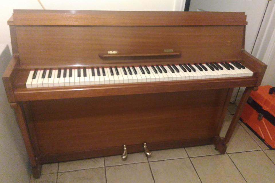 Piano sale example